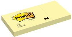 3M - 3M Post-it® Not Sarı 100 yaprak 38x51mm