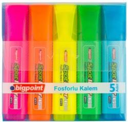 Bigpoint - Bigpoint Fosforlu Kalem 5'li Set