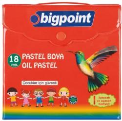 Bigpoint - Bigpoint Pastel Boya 18 Renk Çantalı