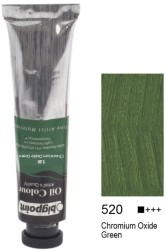 Bigpoint - Bigpoint Yağlı Boya 200 ml Chromium Oxide Green 520