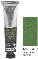 Bigpoint - Bigpoint Yağlı Boya 200 ml Olive Green 569