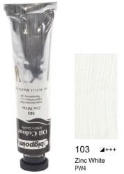 Bigpoint - Bigpoint Yağlı Boya 200 ml Zinc White 103