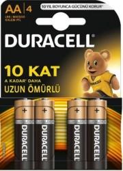 Duracell - Duracell Alkalin AA LR6/MN1500 Kalem Pil 4'lü