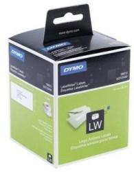 Dymo - Dymo Lw Geniş Adres Etiketi 520 Etiket/Paket 89x36 mm (99012) - 6 lı pk.