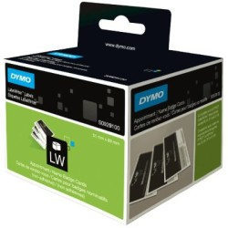 Dymo - Dymo LW Yapışkansız Randevu/İsim Yaka Kart Etiketi 300 etiket/paket 51x89mm - 6 lı pk.