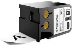Dymo - Dymo XTL Çok Amaçlı Vinil 54 mmx7 m Beyaz/Siyah