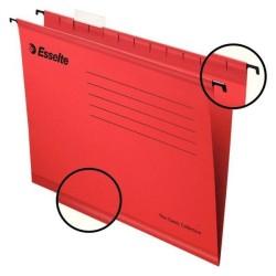 Esselte - Esselte 9031 Pendaflex Ekonomi Askılı Dosya Kırmızı - 25 li Paket
