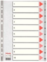 Esselte - Esselte Separatör A4 1-10 Rakam