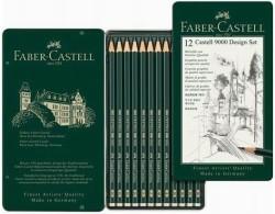 Faber Castell - Faber-Castell 9000 Design Set (5B-5H)