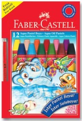 Faber Castell - Faber-Castell Aqua Pastel Boya 12 Renk