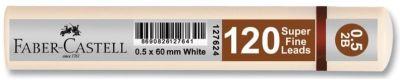 Faber-Castell Grip Min 0.5 2B 60mm 120'li Beyaz Tüp