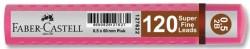 Faber Castell - Faber-Castell Grip Min 0.5 2B 60mm 120'li Pembe Tüp