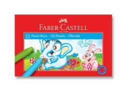 Faber Castell - Faber-Castell Karton Kutu Pastel Boya 12 Renk