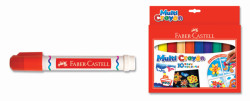 Faber Castell - Faber-Castell Multi Crayon Pastel 10 Renk