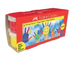 Faber Castell - Faber-Castell Parmak Boyası 45ml. 6 Renk