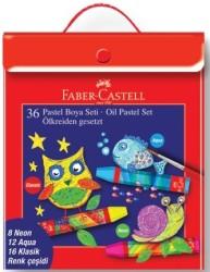 Faber Castell - Faber-Castell Pastel Boya 36'lı Plastik Karışık Set