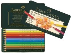 Faber Castell - Faber-Castell Polychromos Kuru Boya Kalemi 12 Renk
