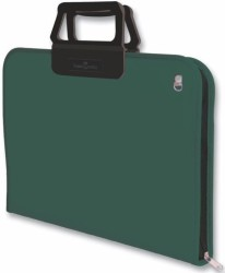 Faber Castell - Faber-Castell Proje Çantası 38x55cm Koyu Yeşil