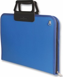 Faber Castell - Faber-Castell Proje Çantası 38x55cm Mavi