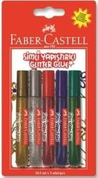 Faber Castell - Faber-Castell Simli Yapıştırıcı 10.5 ml. 5'li