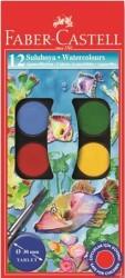 Faber Castell - Faber-Castell Suluboya 12 Renk Büyük Boy
