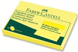 Faber Castell - Faber-Castell Yapışkan Notluk 100x75mm Sarı