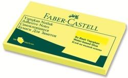 Faber Castell - Faber-Castell Yapışkan Notluk 125x75mm Sarı