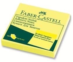 Faber Castell - Faber-Castell Yapışkan Notluk 75x75mm Sarı