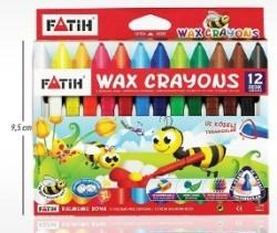Fatih - Fatih Wax Crayons Üçgen Mum Boya 12 li
