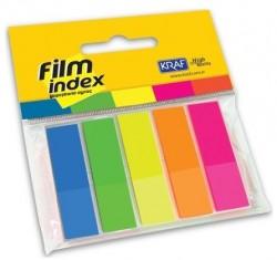 Kraf - Kraf Film İndex 13x44mm 5 Renk x 25 Sayfa