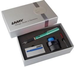 Lamy - Lamy Al-Star Dolma Kalem Seti Mavi-Yeşil
