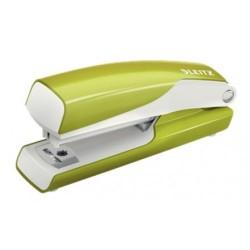 Leitz - Leitz 10 Sayfa Kapasiteli WOW Mini Zımba Makinesi Metalik Yeşil