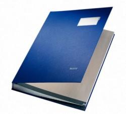 Leitz - Leitz İmza Dosyası PP 20 Bölmeli Mavi