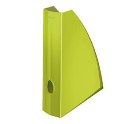 Leitz - Leitz WOW Plastik Kutu Klasör Metalik Yeşil