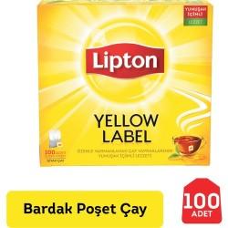 Lipton - Lipton YellowLabel Bardak Poşet Çay 100lü
