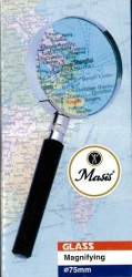 Masis - Masis Metal Çerçeveli Saplı Büyüteç 75 mm.