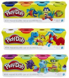 Play-Doh - Play-Doh Oyun Hamuru 4 Renk