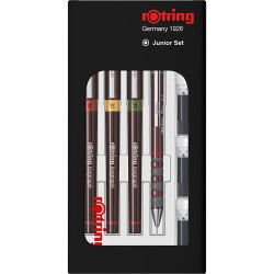 Rotring - Rotring İsograph Set (0.1-0.2-0.3)+Tikky 0.5