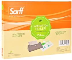 Sarff - Sarff A4 Laminasyon Filmi Parlak 150 Micron