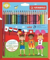 Stabilo - Stabilo Color Kuru Boya 24'lü Hartung