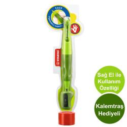 Stabilo - Stabilo Easyergo 3.15 HB Sağ El Uçlu Kalem Açık Yeşil - Koyu Yeşil