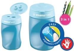 Stabilo - Stabilo Easysharpener Kalemtıraş Mavi - Sağ El (3 delikli&hazneli)