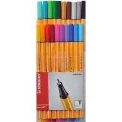 Stabilo - Stabilo Point 88 20 Renk Askılı Paket