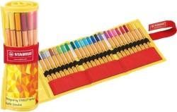 Stabilo - Stabilo Point 88 Colormatrix Roller Set 25 Renk