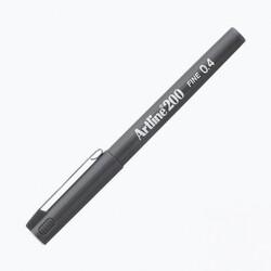 Artline - Artline 200 Fineliner 0.4 mm Çizim Kalemi Gri