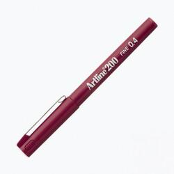 Artline - Artline 200 Fineliner 0.4 mm Çizim Kalemi Koyu Kırmızı