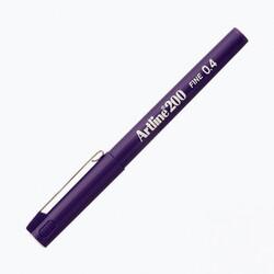 Artline - Artline 200 Fineliner 0.4 mm Çizim Kalemi Mor
