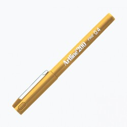 Artline - Artline 200 Fineliner 0.4 mm Çizim Kalemi Sarı