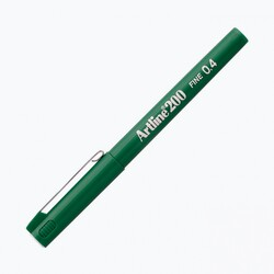 Artline - Artline 200 Fineliner 0.4 mm Çizim Kalemi Yeşil