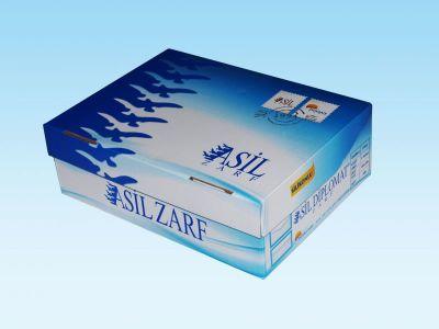 Asil Diplomat Zarf Silikonlu 1.Hamur 110 gr. Düz 500 lük Kutu